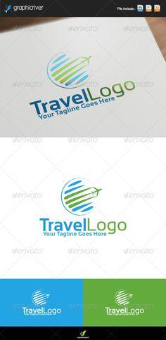 Travel Agency Logo #graphicriver