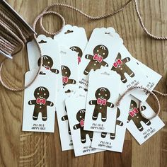 gingerbread mancookie cutter tags