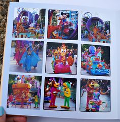 Making a Fast Disney Photo Book   Capturing Magic