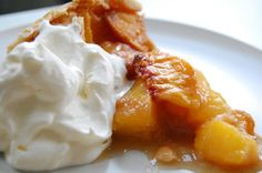Pin for Later: Taste the States: 50 Iconic American Desserts Georgia: Peach Pie