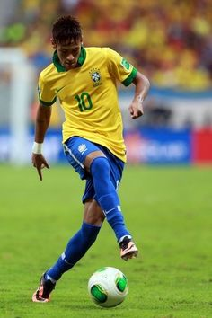 ~ Neymar on the Brazil National Team against Japan in the Confederations Cup ~