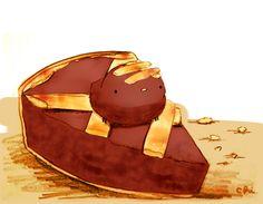 アーモンド入りの生地にタルト生地を網目状にかぶせて焼いた、クロアチアのお菓子。