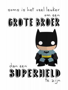 superheld broer soms is het veel leuker om een grote broer dan een superheld te zijn