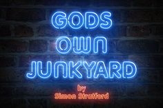 Create stand out designs and do your bit for charity with Gods own Junkyard typeface.