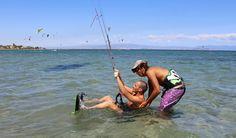 Kitesurf en sardaigne