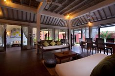 The villa #Medori is a perfect mix of #modernity and #balinese style