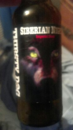Siberian night, imperial stout