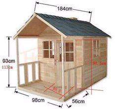 Resultado de imagem para casa de madeira para crianças