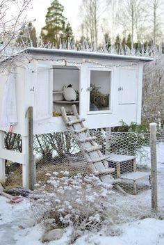hannashantverk.blogspot.se hutch vinterbur ermine rabbits More