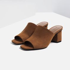 Image 5 of MULE SANDALS from Zara