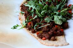 BBQ Beef Pizza (AIP, Paleo)