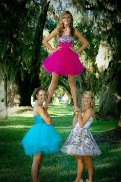 What me and my sisters/besties gonna do for prom or 8th grade dance! :)
