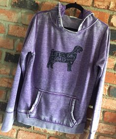 Show Animal Super-soft Zen Hoodie - Goat by CountyRoadMarket on Etsy https://www.etsy.com/listing/254903718/show-animal-super-soft-zen-hoodie-goat