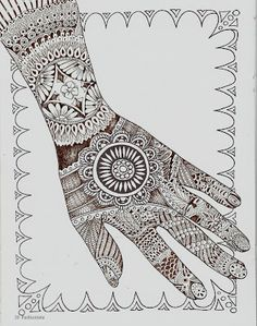 1000 Images About Zentangle Hands On Pinterest