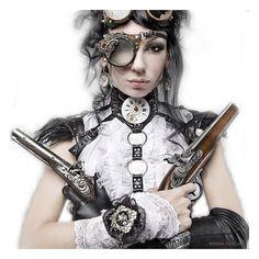 ZaSlike.com - Besplatni upload slika! ❤ liked on Polyvore featuring dolls, steampunk and people