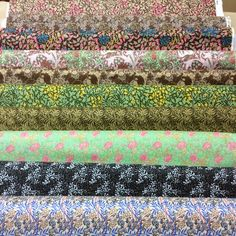 10 x Long Quarter CLEARANCE Pack Bundle - Fabric Freedom - William Morris by MarilynsPatchwork on Etsy