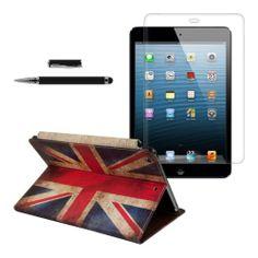 3en1:Funda chic de cuero para el Apple iPad Air Diseño de banderas retro (Inglaterra) con una práctica función de soporte + Lámina, transparente + Stylus, Negro de kwmobile B00GWPELDO - http://www.comprartabletas.es/3en1funda-chic-de-cuero-para-el-apple-ipad-air-diseno-de-banderas-retro-inglaterra-con-una-practica-funcion-de-soporte-lamina-transparente-stylus-negro-de-kwmobile-b00gwpeldo.html