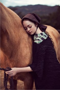 """Winston Churchill said """"There is something about the outside of a horse that is good for the inside of a man."""" And woman. And child."""