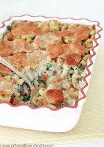 Baked Chicken Pot Pie Pasta   AllFreeCasseroleRecipes.com