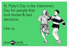 Happy St. Patty's Day everyone.