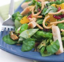 A heart-healthy recipe for Chinese Chicken Salad.