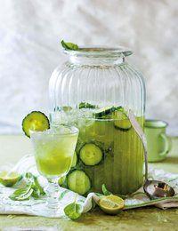 Komkommer-limonade