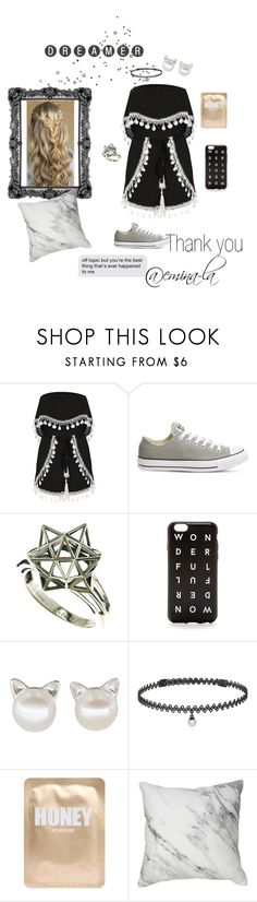 """Thank you for 200! RTD Plz!! 😍😍😍"" by mystical-dimples ❤ liked on Polyvore featuring Converse, John Brevard, J.Crew, BERRICLE, Lapcos and 200"