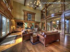 Luxury Home Magazine Denver #Luxury #Homes #Decor #Design #Wood #Floors #Rustic #Mansions #Interior