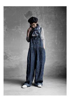 BerryStyle | Rakuten Global Market: Joie de Vivre hardware men linen denim bio Farmer salopette pants