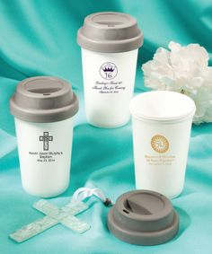 First Communion Personalized Coffee Cup Favors