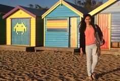 Brighton beach Melbourne, Australia