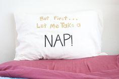 diy nap pillow