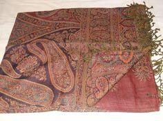 Designer Throw Bedspread Bedding Queen Size Wool Jamawar #Handmade