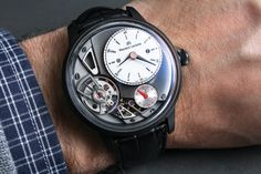 Maurice Lacroix Masterpiece Gravity Watch Hands-On Hands-On