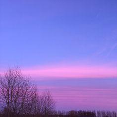 Sugar sweet sky. #nofilter #watercolorsky #pink