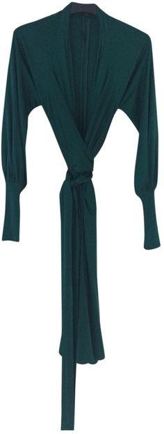 ISSA Issa silk jersey wrap dress