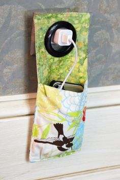 IPhone Charger Cozie ... from 'BabyDear' on Lilyshop for $12.00.  Cute idea for stocking stuffers!
