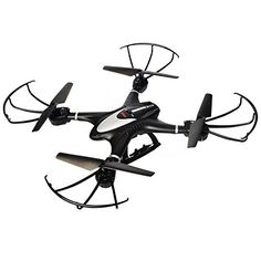 MJX X401H FPV Quadcopter Drone with Altitude-Hold EASY TO FLY RC Real Time Transmission HD Camera RTF Explorer Copter, Left and Right Hand Switch Mode Predator, Black * Click on the image for additional details.