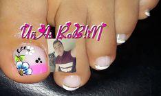 Image may contain: 1 person, closeup and text Magic Nails, Pedicure, Instagram Posts, Diana, Beauty, Image, Work Nails, Amor, Toe Nail Art
