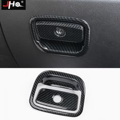 Real Carbon Fiber A Pillars Air Vent Cover Trim For Jeep Grand Cherokee 14-18