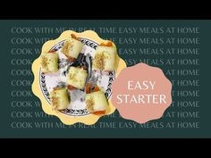 Cook with me quick party appetizer. Cooking Box, Cook At Home, Home Recipes, Appetizers For Party, Easy Meals, Make It Yourself, Breakfast, Music, Food