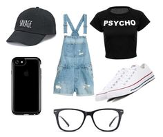 """""""Casual day"""" by unicorn2006 on Polyvore featuring Converse, Speck, SO and GlassesUSA"""