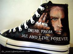 Interview with a Vampire converse high tops