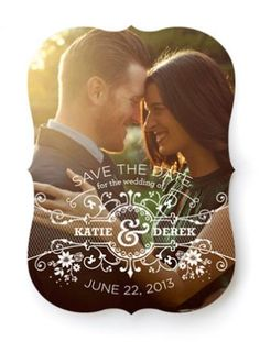 10 Save-the-Dates We Love From Minted.com! | The Knot Blog – Wedding Dresses, Shoes, & Hairstyle News & Ideas