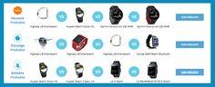 Praktische Smartwatch gefällig? Dann schau doch mal bei unseren Vergleichen vorbei: