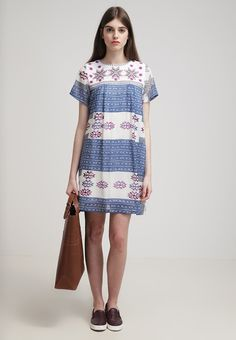 Little White Lies - VERONIQUE - Sommerkjole - blue Little White, Summer Dresses, Casual, Blue, Fashion, Moda, Summer Sundresses, Fashion Styles, Fashion Illustrations
