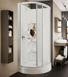 Iris B Corner shower - Keystone by MAAX