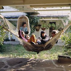 The Rolling Stones in Laurel Canyon, Calif., 1969