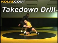 Takedown Drill KOLAT.COM Wrestling Techniques Moves Instruction - YouTube