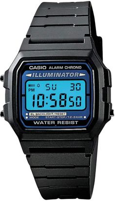 Compare Casio Digital Watches prices at top digital watch retailers. The smarter way to shop for Casio watches. Stylish Watches, Casual Watches, Luxury Watches, Cool Watches, Watches For Men, Wrist Watches, Cheap Watches, Casio Quartz, Casio Digital
